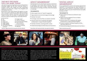 Information Brochure - Howick Little Theatre