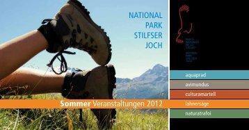 ferienregion ortlergebiet - Nationalpark Stilfserjoch