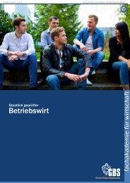 Sabel / GBS München | Betriebswirt:  Fachakademie für Wirtschaft