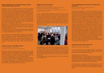 Borchi Flyer.indd - Arbeitskreis Kritische Soziale Arbeit Dresden