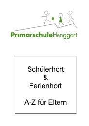 E wie - Primarschule Henggart