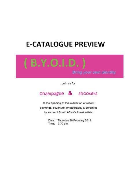 ( B.Y.O.I.D ) Exhibition Catalogue