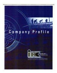 ILHAM Kos Konsultan Sdn Bhd : Profail Syarikat - BQSM