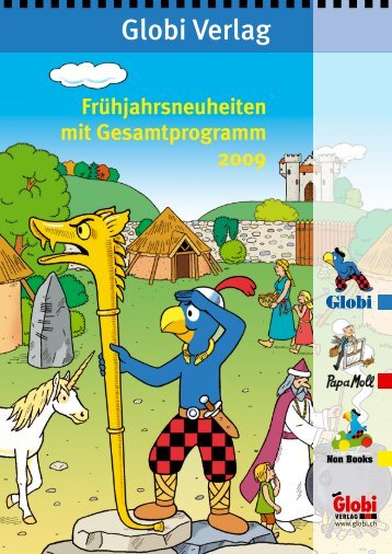 Backlist Non Book-Artikel Holz - Globi Verlag