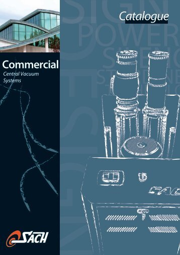 Tertiary Sector Commercial Catalogue Sach - (English)