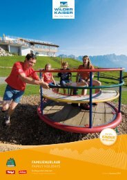 Familienbroschüre 2011 - Familiennester - Tirol
