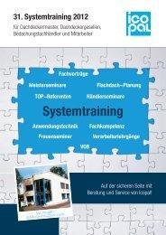 31. Systemtraining 2012 - Icopal GmbH