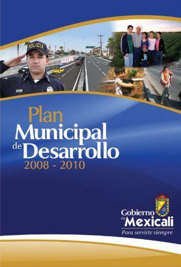Plan Municipal de Desarrollo Mexicali - CECyTE