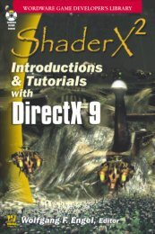 ShaderX2 Introductions & Tutorials With DirectX 9 - ACM ...