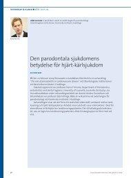 Den parodontala sjukdomens betydelse för hjärt-kärlsjukdom ...