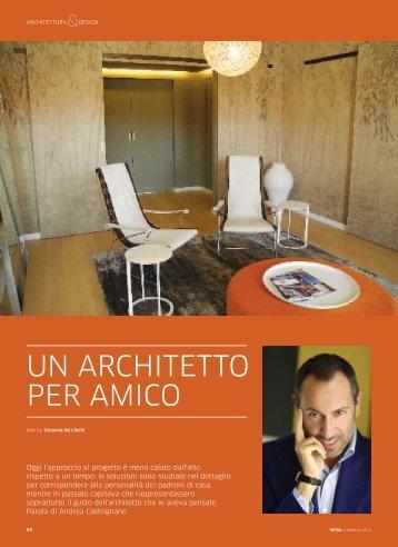 un ArchitettO Per AmicO - Andrea Castrignano