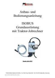 3 Übersicht Traktor-Grundausrüstung - Müller Elektronik
