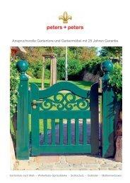 Peters + Peters Katalog Bilder