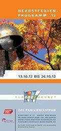 Herbstferienprogramm 2012 - Stadt Büdingen
