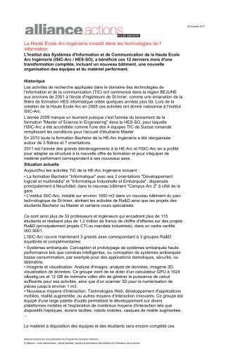 Informatique & Communications - mars 07