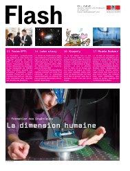 La dimension humaine - NEWS EPFL
