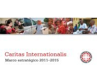 Marco estratégico - Caritas Internationalis