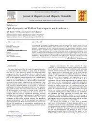 Optical properties of III-Mn-V ferromagnetic semiconductors ...