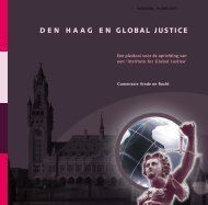 DEN HAAG EN GLOBAL JUSTICE