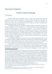 Rosmini e il problema dell'origine del linguaggio - pdf