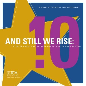 AND STILL WE RISE: - District of Columbia Primary Care Association