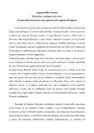 Appunti lezione 1 - Pdf - CattedraRosmini.org