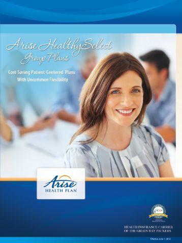 Brochure - Arise Health Plan