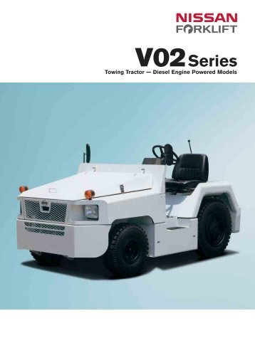 "Diesel Operated Tow Tractor : Voith water tractor ""elbe"" urag"