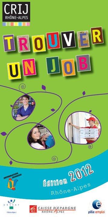 Guide trouver un job.pdf - Rhône-Alpes Solidaires