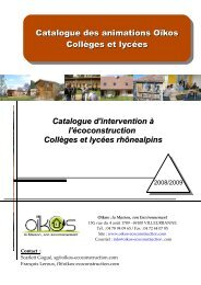 le catalogue ci-joint. - Rhone Solidaires