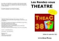 THEATRE - Rhone Solidaires
