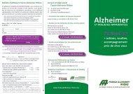 Alzheimer - Rhone Solidaires