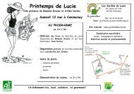 Printemps de Lucie - Rhone Solidaires