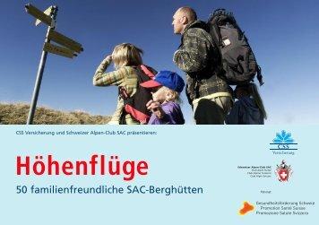 Aktion Höhenflüge - Etzlihütte