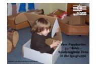 Vom Pappkarton zur Höhle - St. Augustinus Kindergarten GmbH