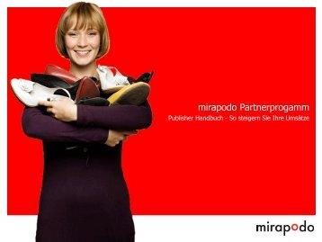 Publisher Handbuch - mirapodo.de Blog