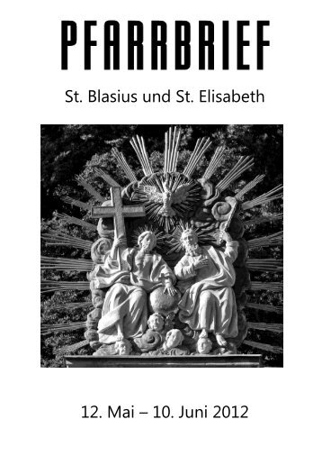 Pfarrbrief vom 12.05.2012 - Katholische Kirchengemeinden in ...