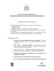 Nemzetközi konferencia a kulturális turizmus lehetőségeiről