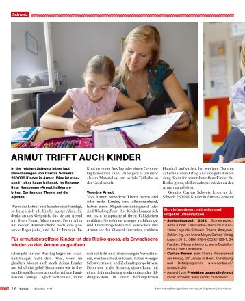 Caritas Magazin: Armut trifft auch Kinder (208.82 KB - Armut halbieren