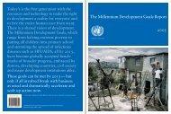 The Millennium Development Goals Report 2005