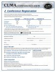 Full Conference Brochure including all registration forms - Page 7