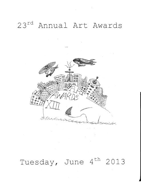 A Complete Listing Of Art Awards Hoosic Valley Central School