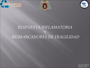 Respuesta inflamatoria y Biomarcadores de fragilidad - Scmgg.com