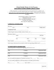 Application (.pdf) - Columbia University