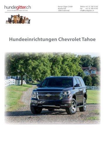 Hundeeinrichtungen Chevrolet Tahoe