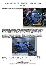 Die Geschichte der Yamaha FZR 750R Genesis - GENESIS Board