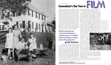 By Film Connecticut's Star Turn In - Connecticut Explored
