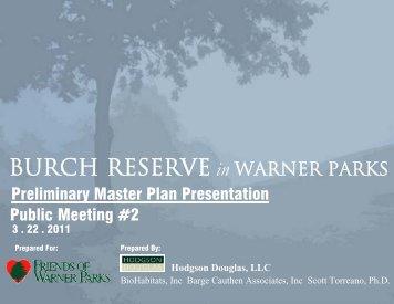 Burch Reserve in Warner Parks - Friends of Warner Parks