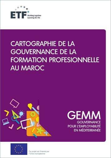 Morocco_mapping VET governance_FR