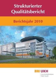 Strukturierter Qualitätsbericht - Medizinische Fakultät der Martin ...